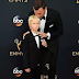 Dad goals. Liev Schreiber and his 7yr old son son attend Emmys in matching tuxedos