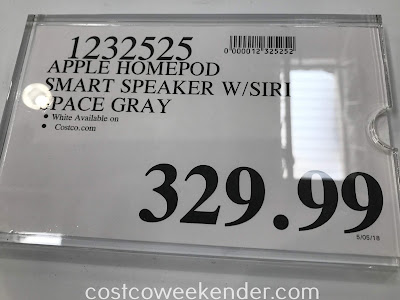 Deal for the Apple HomePod Smart Speaker at Costco