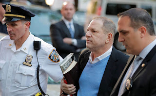 Disgraced Hollywood producer Harvey Weinstein
