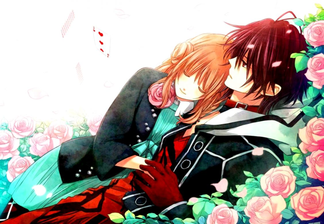 1010+ Download Wallpaper Romantis Anime Terbaik