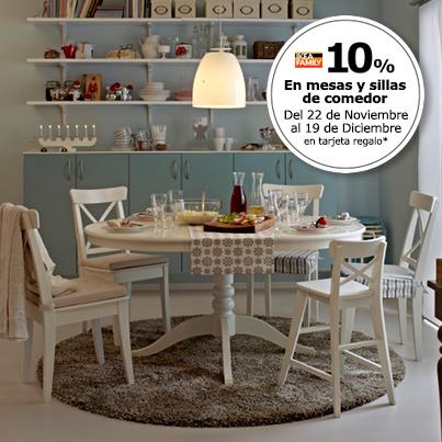 Dormitorio Muebles modernos: Ikea mesas y sillas comedor