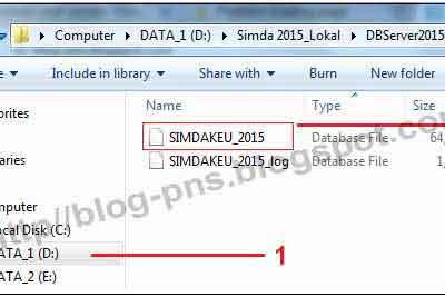 Tutorial Cara Memperbaiki Database Simda yang Rusak dengan Attach File MDF di SQL Server