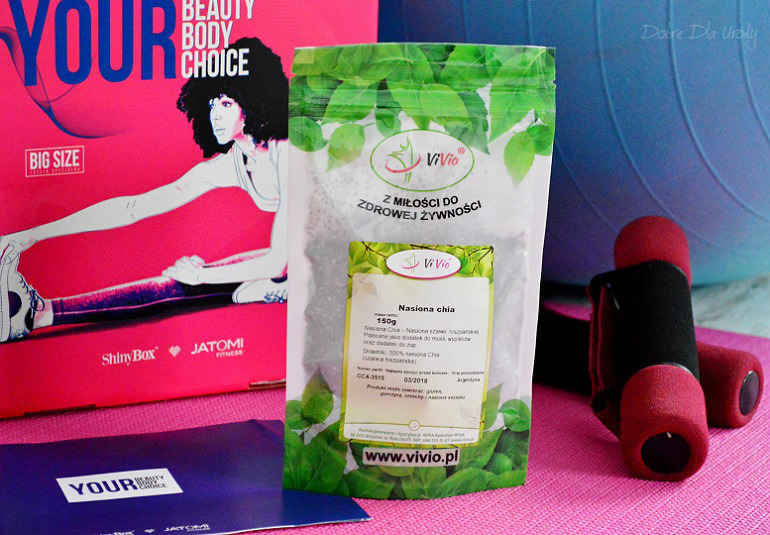 ShinyBox Your Beauty, Your Body, Your Choice! ViVio Nasiona CHIA
