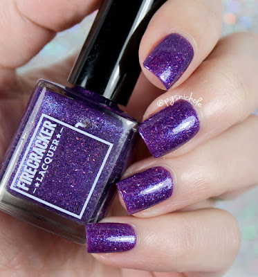Firecracker Lacquer Vio-Let Me Down Easy