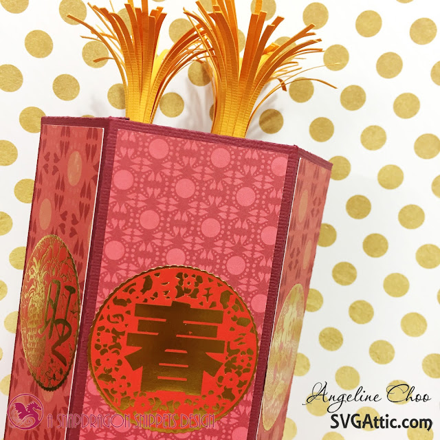 ScrappyScrappy: Chinese Lunar New Year Firecracker with SVG Attic #svgattic #scrappyscrappy #firecracker #jgwpatrioticcelebration #lunarnewyear #chinesenewyear #celebration #homedecor