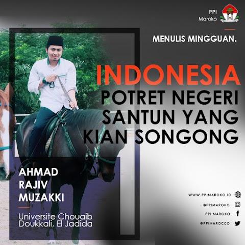 Mingguan Menulis - Indonesia, Potret Negeri Santun yang kian Songong