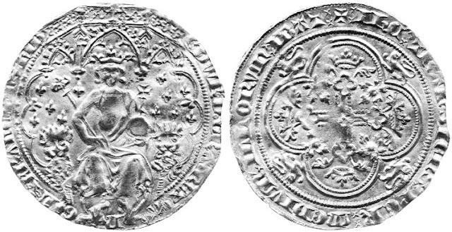 Doble leopardo de Eduardo III