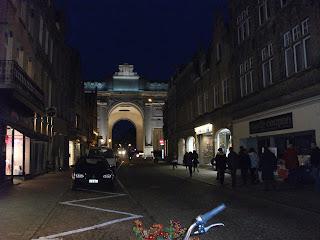 Travel Menin Gate Ypres Belgium World War I