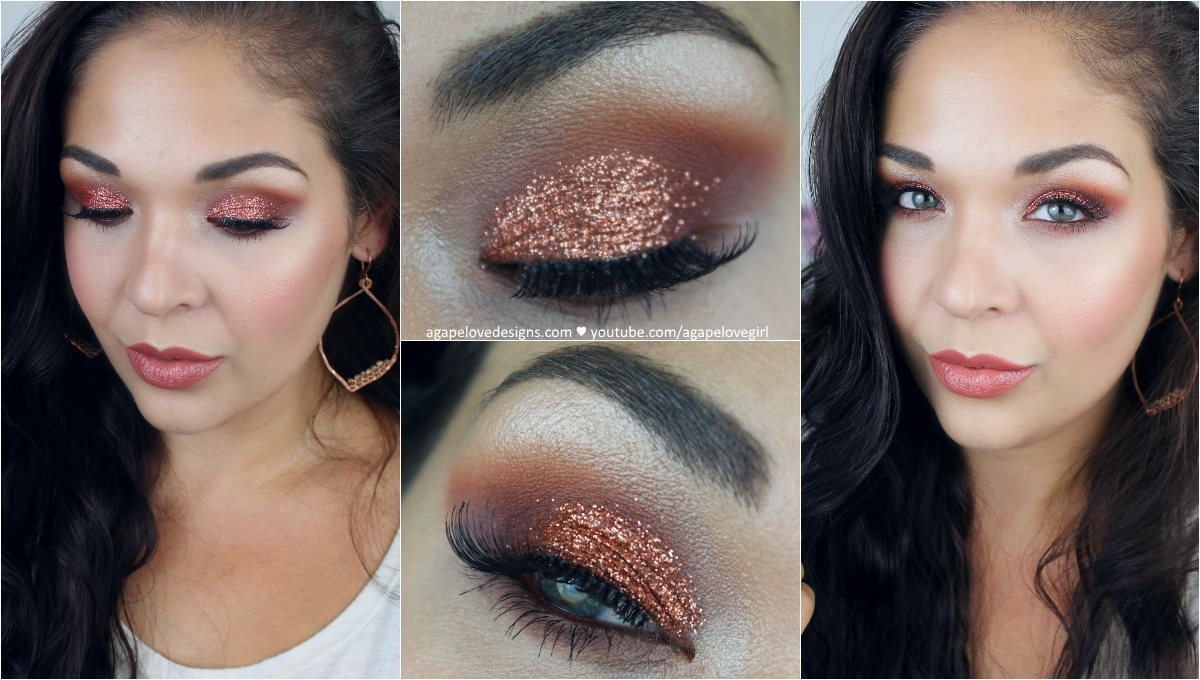 Agape love designs warm fall glam makeup full face tutorial warm fall glam makeup full face tutorial baditri Image collections