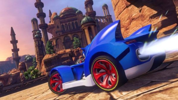 Sonic and All-Stars Racing Transformed PC Full Version Screenshot 1