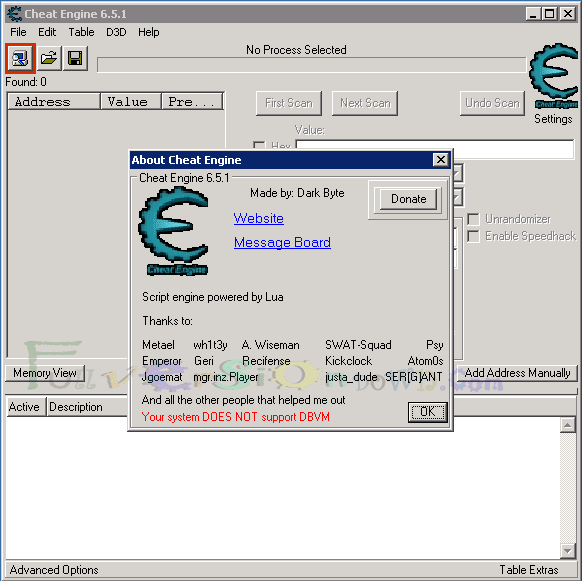 Cheat Engine Latest Version