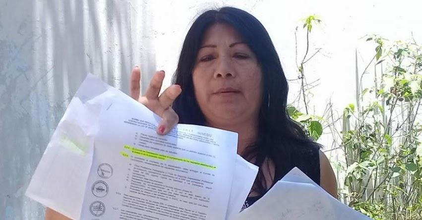 Maestra denuncia «favoritismo» en adjudicación de plazas para Educación Básica Alternativa en la UGEL Santa