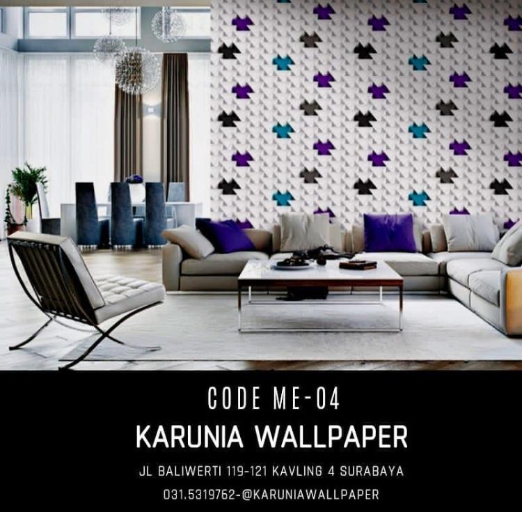 jual wallpaper 3 dimensi unik surabaya