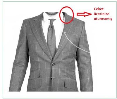 ceket seçimi ölçüler