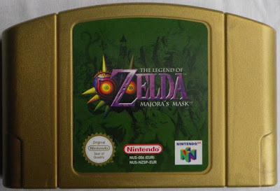 The Legend of Zelda - Majora's Mask - Cartucho delante