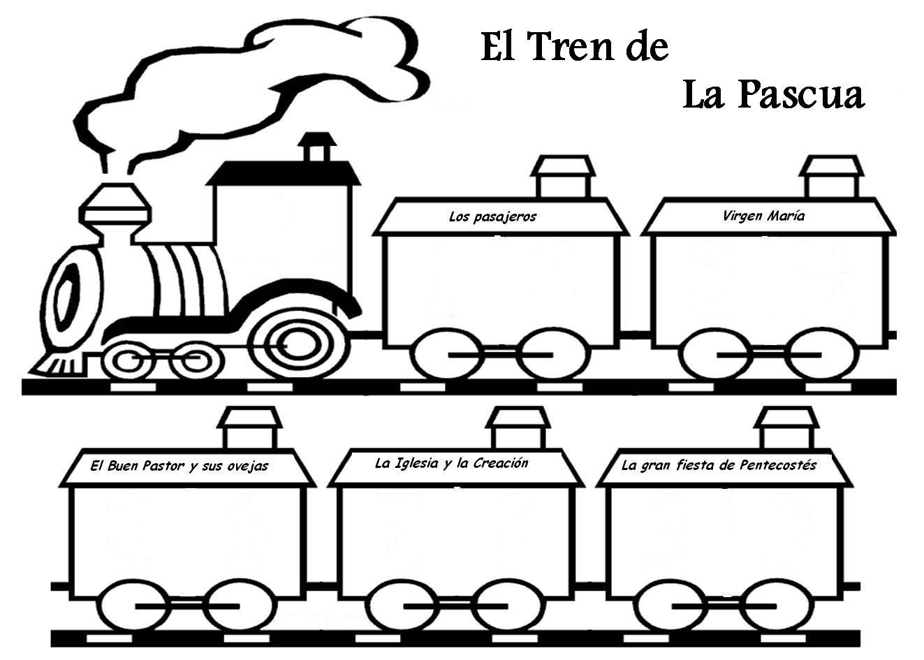 Dibujos De Trenes El Corte Ingles Mochilas Escolares