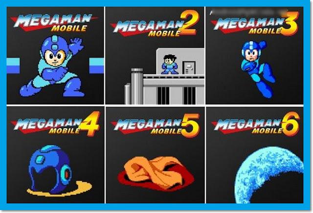 MEGA MAN MOBILE 1,2,3,4,5,6 APK