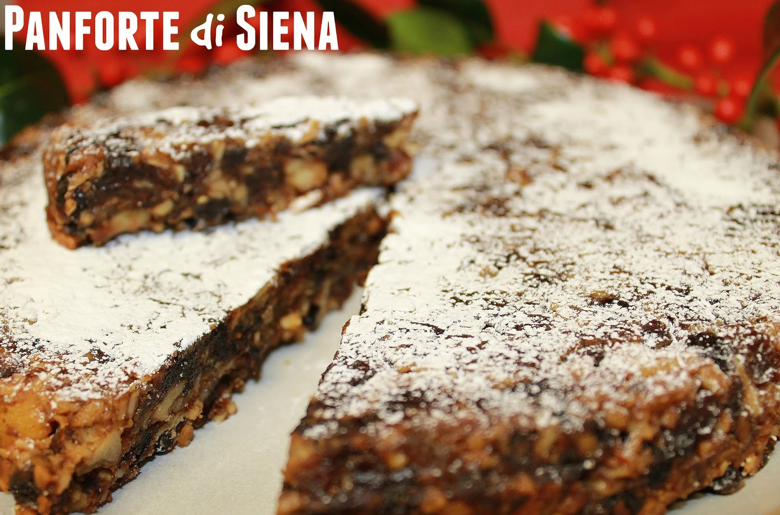 Italian Fruit Cake Panforte
