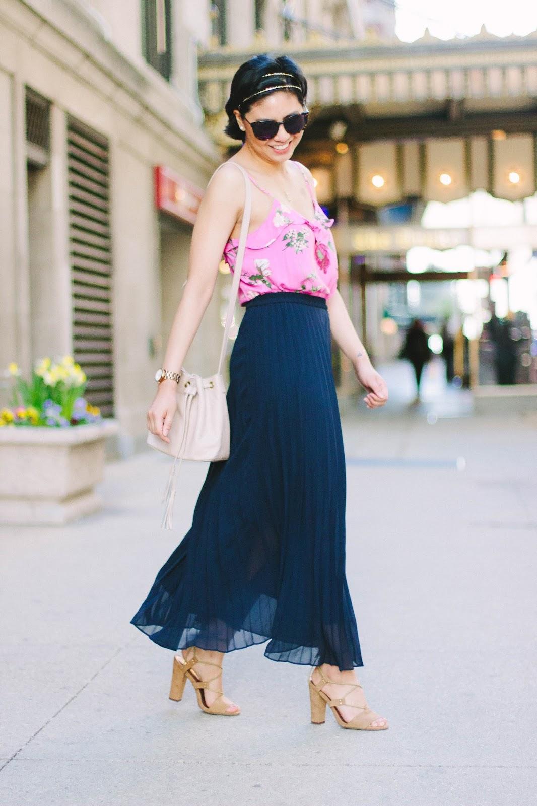 Wearing floral prints for Spring & Summer
