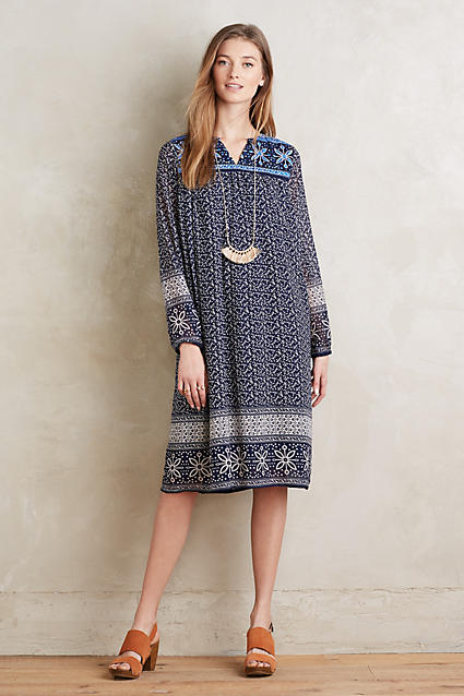Anthropologie's Pretty Spring Dresses Midi to Maxis ...