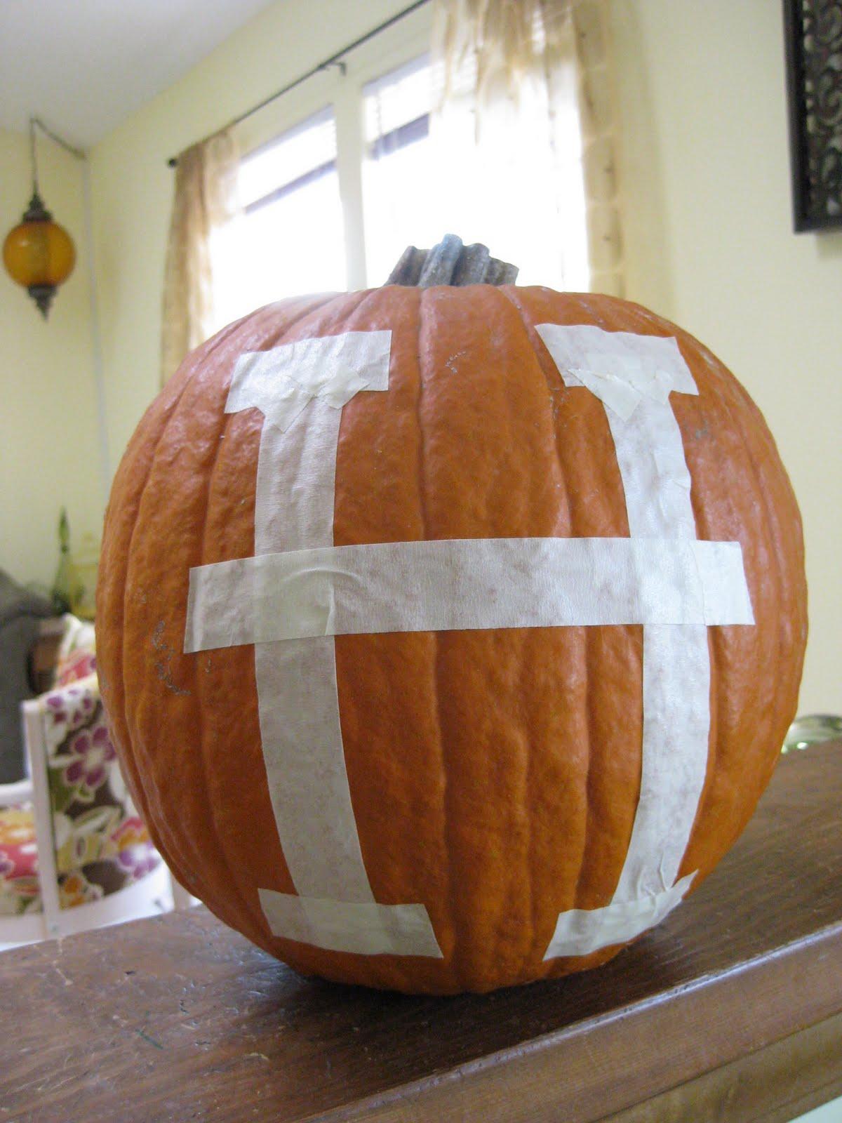 Hems And Haws Monogrammed Pumpkin