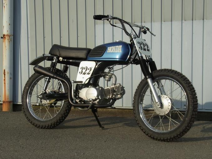 Small Sun Custom: Honda 90 Scrambler - M & M Motorcycles Japan