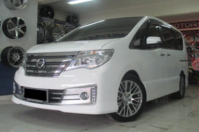 Nissan Serena C26 Modifikasi