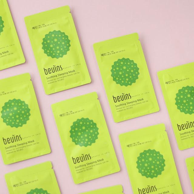 Beuins Soothing Sleeping Mask Pack Kbeauty