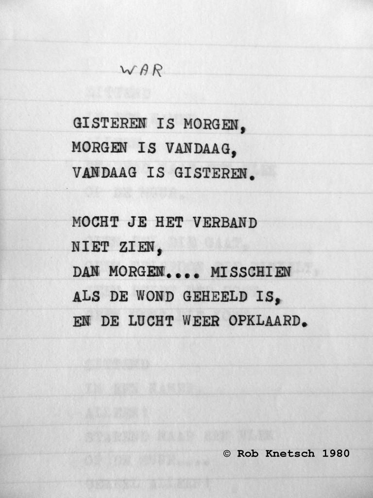Of Turmoil And Quest Gedicht War Door Rob Knetsch