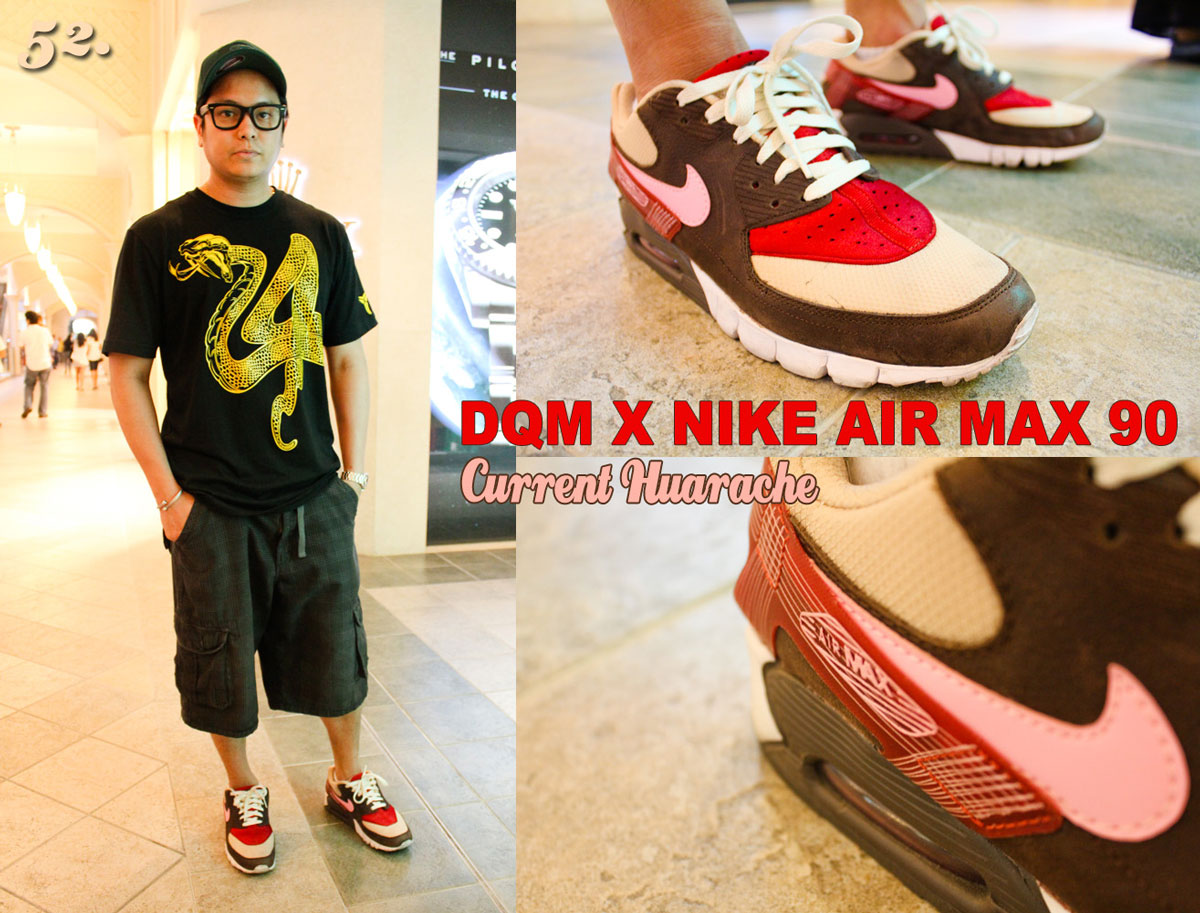 newest 92aad 6a7f6 DQM x Nike Air Max 90 Current Huarache