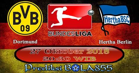 Prediksi Bola855 Dortmund vs Hertha Berlin 27 Oktober 2018