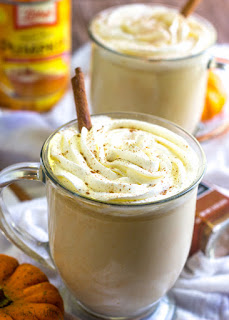 Perfect Slow Cooker Pumpkin White Hot Chocolate