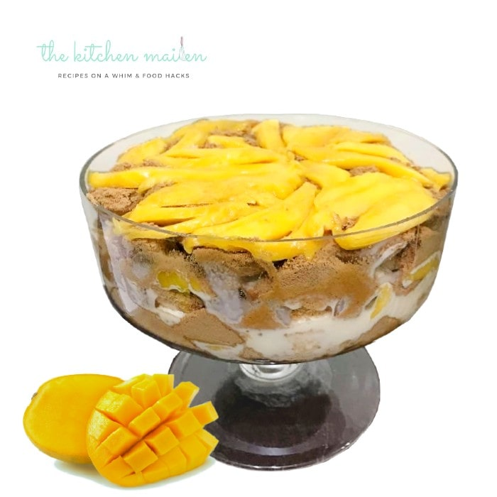 Mango Supreme No Bake Cake Recipe