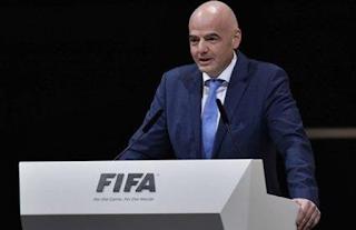 تصريح مفاجأ صرح رئيس الاتحاد الدولي لكرة القدم (الفيفا) جياني إنفانتينو، اليوم الجمعة، بأن عدد المنتخبات المشاركة في كأس العالم سيرتفع عام 2026 إلى 48 ونصيب القارة الأفريقية سيصل إلى تسعة منتخبات