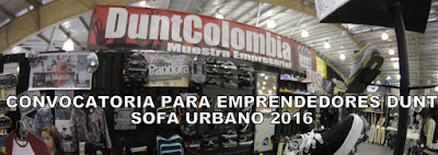 Convocatoria para emprendedores DUNT en Sofa Urbano 2016