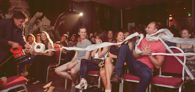 Source: Singapore Festival of Fun website. Scene from last year's Magners International Comedy Festival.