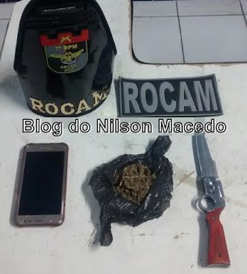 Policiais Militares da ROCAM apreendem adolescentes que praticavam assaltos no centro de Araripina - PE
