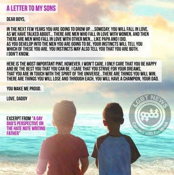 A letter to my sons