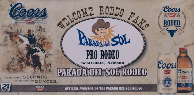welcome to the scottsdale parada del sol rodeo in Arizona