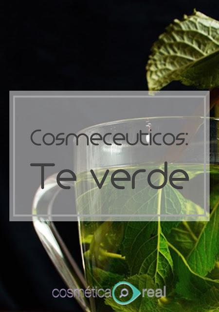 Cosmecéuticos: El té verde