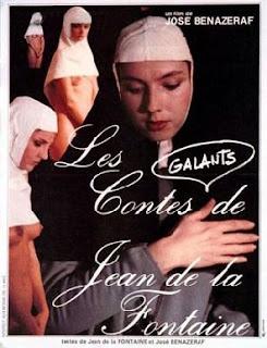 LES CONTES GALANTS DE LA FONTAINE affiche poster jose benazeraf