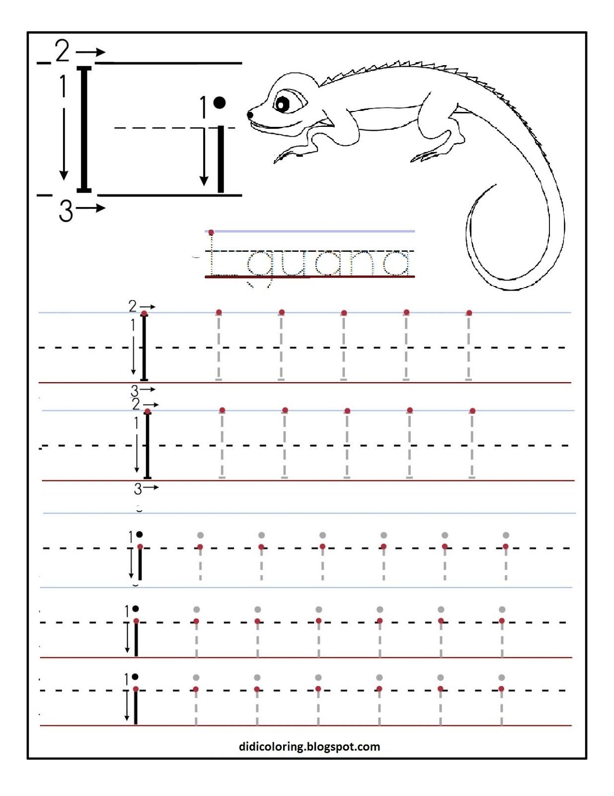 Free Printable Worksheet For Kidsst For Your Child To