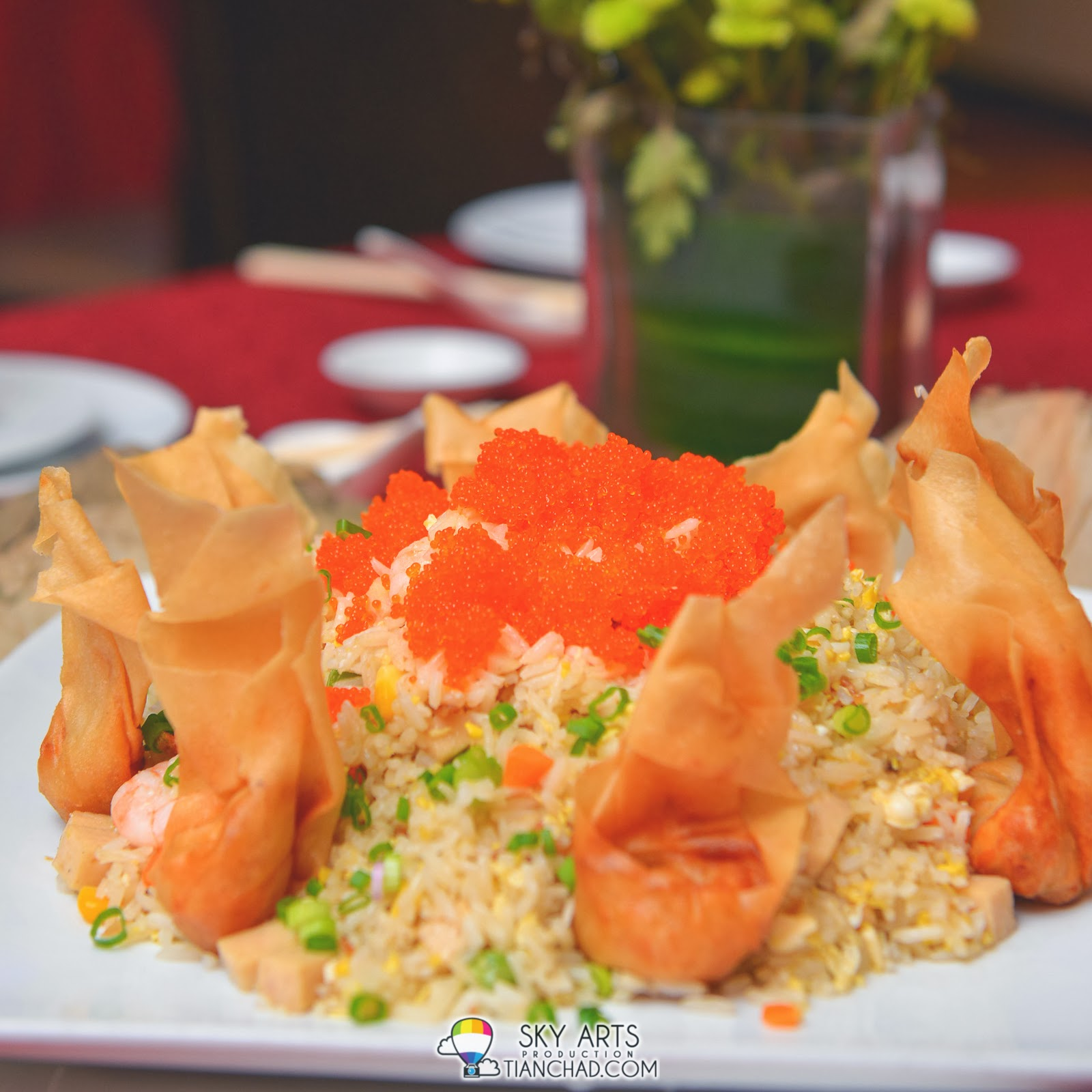 扬州炒饭配日本魚子 Yong Chow Fried Rice with Tobiko @ Phoenix Chinese Restaurant at Holiday Inn Glenmarie