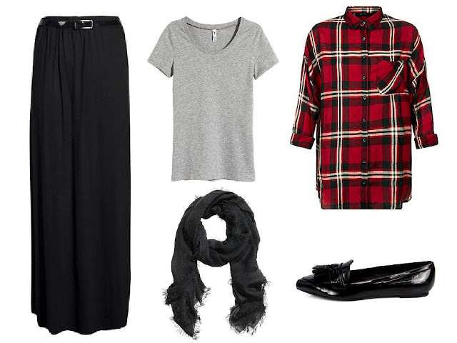 Styling - Black Maxi Skirt - Transition - Autumn - winter - Outfit - OOTD - Get the look - Fashion - style - New Look - H&M - Boo hoo - Misguided - Oasis - River Island - Topshop - Next