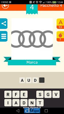 Iconica Italia Pop Logo Quiz soluzione pacchetto 4 livelli 4-75