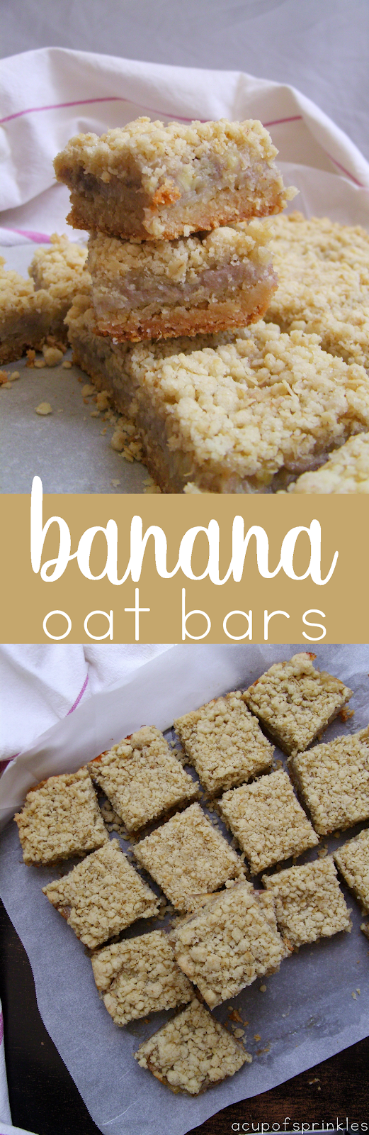 banana oatmeal squares
