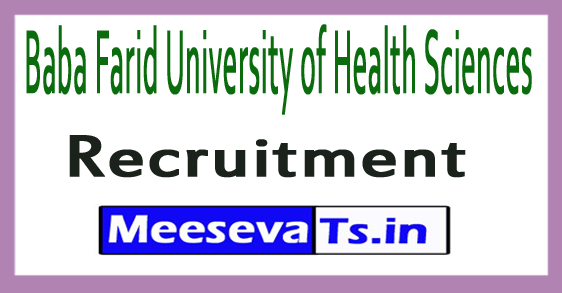 Baba Farid University of Health Sciences BFUHS Recruitment