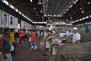 mercado de peixes ver o peso