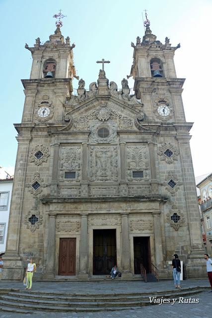 Iglesia de Santa Cruz, Braga, Portugal