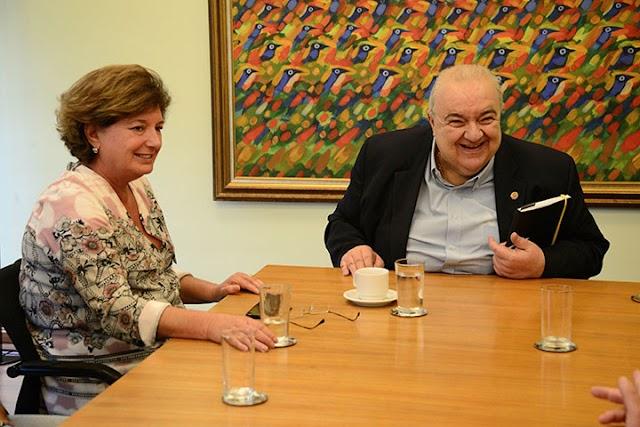 Prefeita Beti conversa com Rafael Greca para integrar oa terminais de Colombo com Curitiba